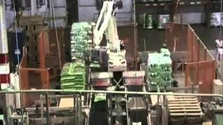Pick and Placing Bags of Soil with a Kawasaki Robot