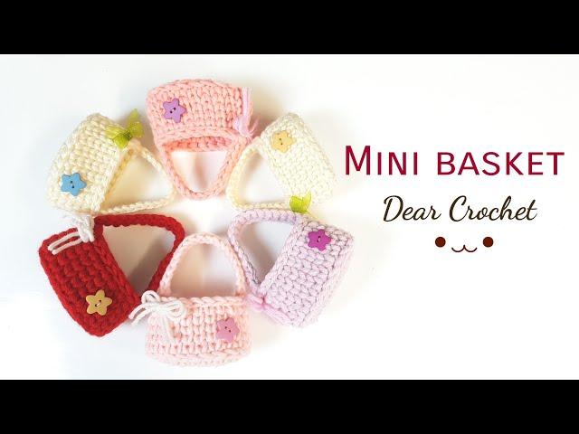 [??? ?? ???] ?????? ??? ???? |?? ? ???? ??(Crochet basket| Crochet mini bag)