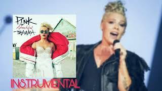 P!nk - Beautiful Trauma(Official Instrumental)✔️