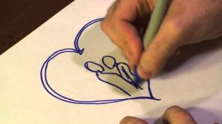How to Draw a Love Picture