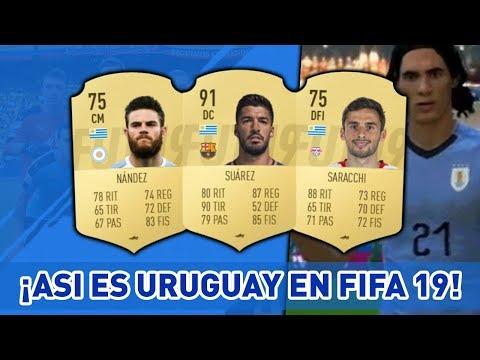 ¡¡ FIFA 19 MEDIAS OFICIALES DE URUGUAY !! 🇺🇾 - ULTIMATE TEAM - Ft. Suarez, Cavani, Torreira y más