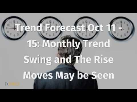 Trend Forecast Oct 11-15: Monthly Trend Swing and The Rise Moves May be Seen