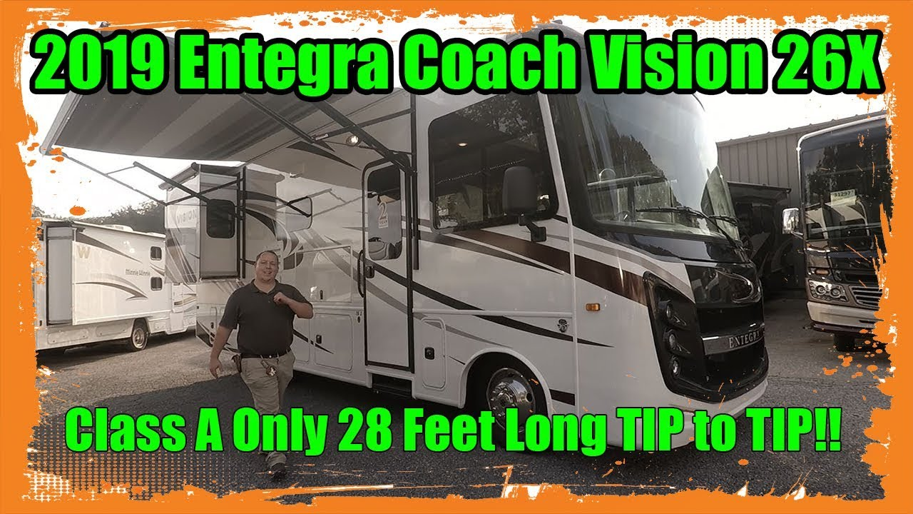 2019 Entegra Coach Vision 26X - The SMALLEST Class A Gas on the Market!