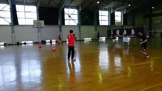 山本学園高校 男子ハンドボール部 練習風景②