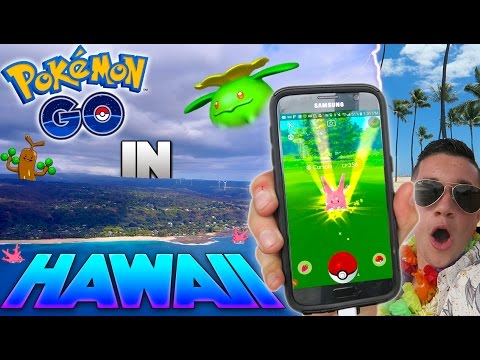 What is Pokemon Go like in Hawaii? (Generation 2) *Top Destination*