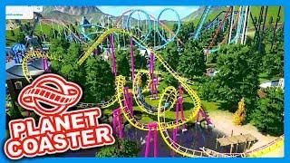 Mein erster Park - Aus der Alpha | PARKTOUR - Planet Coaster