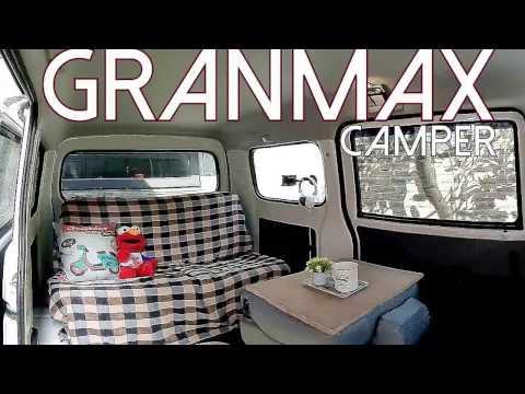 Gran Max simple setup camper