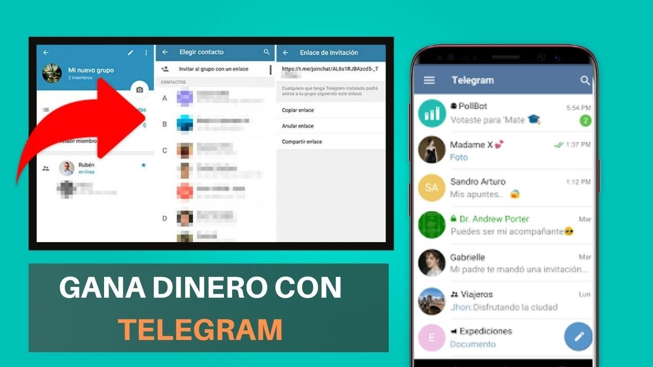 bot de telegram para ganar dinero 2021