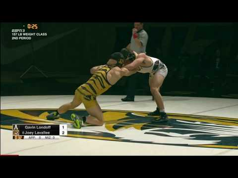 Mizzou Vs Appalachian State 2016/17 Wrestling Dual Highlights
