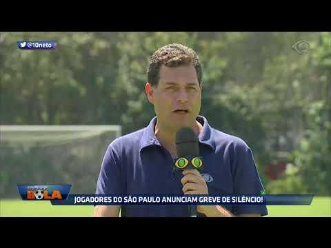 Jogadores Do São Paulo Anunciam Greve De Silêncio