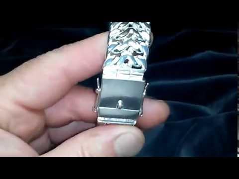 Браслет женский покрыт серебром 925 пробы