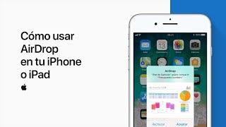 Cómo usar AirDrop en tu iPhone o iPad– Soporte técnico de Apple