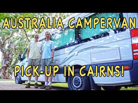 Picking Up Our Campervan. Our OZ Road Trip Has Begun!