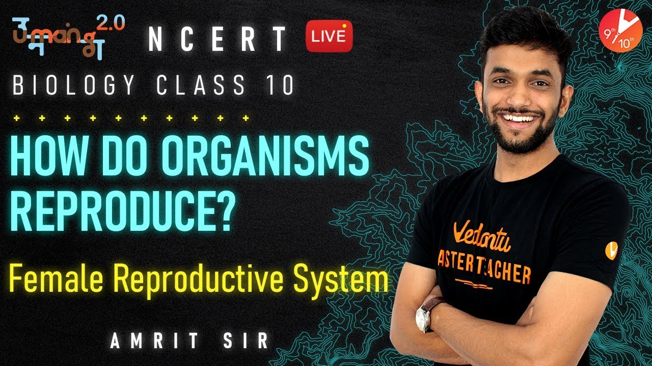 How do Organisms Reproduce? L4 | Female Reproductive System| CBSE Class 10 Science Chapter 8 Vedantu