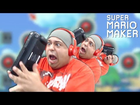 IM GOING TO NEED A NEW CONTROLLER AFTER THIS ONE! [SUPER MARIO MAKER] [#106]