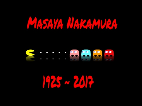 "Masaya Nakamura, the founder of Namco and the ""Father of Pac-Man"" has passed away"