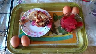 Второй день диеты Магги, она же яичная диета, она же диета Маргарет Тетчер.