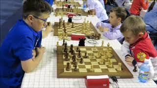 1. FM Makoveev vs Zamekhovskiy 2.Pidluznij vs Girshgorn World Cadet Chess Blitz Campionship in Minsk