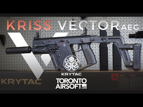 Official Krytac Kriss Vector Airsoft AEG In-depth Review - TorontoAirsoft.com