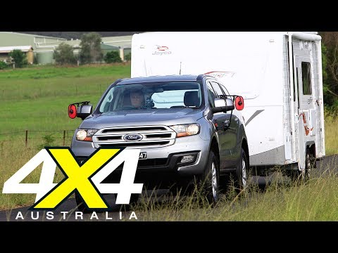 Ford Everest Trend 2017 Tow Test Review | 4X4 Australia
