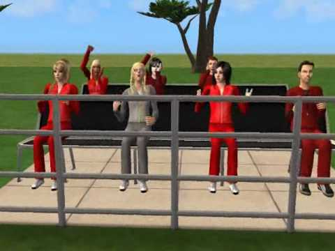 Taylor Swift-You belong with me official video sims 2
