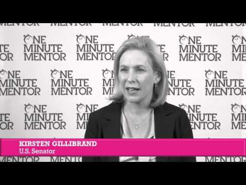 Hearst One Minute Mentor: Kirsten Gillibrand on Conflict