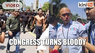Violence escalates at PKR Youth congress
