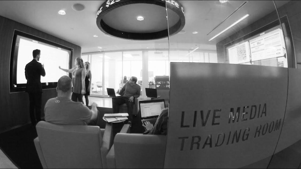 zimmerman advertising   live media trading room - youtube
