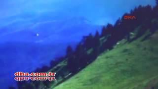İşte Giresun'da düşen askeri helikopterin düşmeden önceki son anları!..