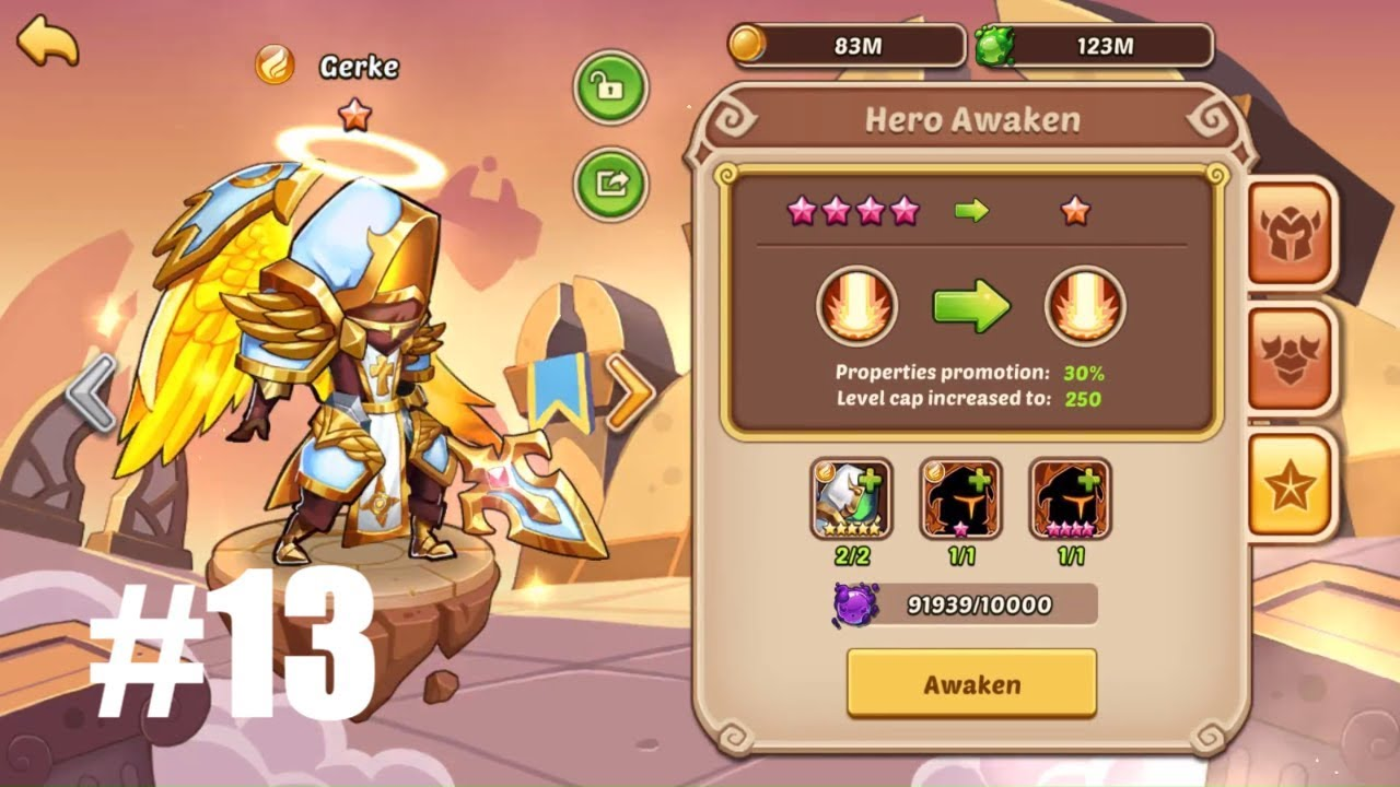 IDLE HEROES SEASONAL - JANUARY #13 | Gerke 10 Star