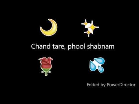 Chand Tare Phool Shabnam - Tumse Acha Kaun Hai | Lyrical Video | Whatsapp story