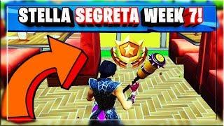 STELLA SEGRETA WEEK 7 SEASON 10 FORTNITE! SECRET BATTLE STAR LOCATION WEEK 7!