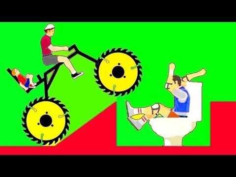 как играть в happy wheels на картах игроков