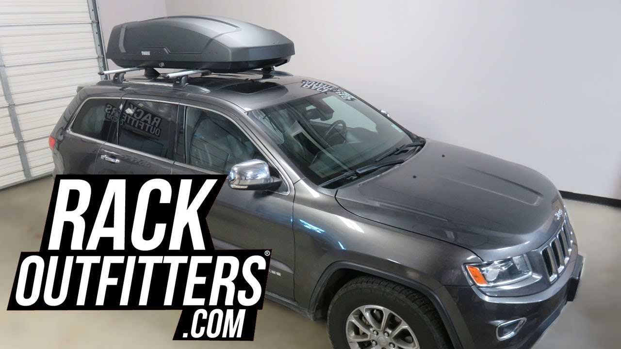 thule motion xt and force xt cargo box