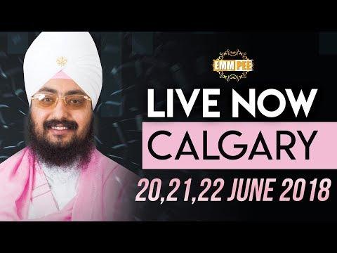 LIVE STREAMING | CALGARY,ALBERTA (CANADA) | Day 1 | 20 June 2018 | Dhadrianwale