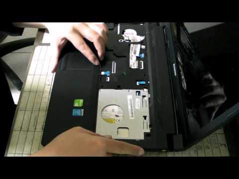 阿義3D  今天不作3D   Lenovo B590 CPU 更換 過程