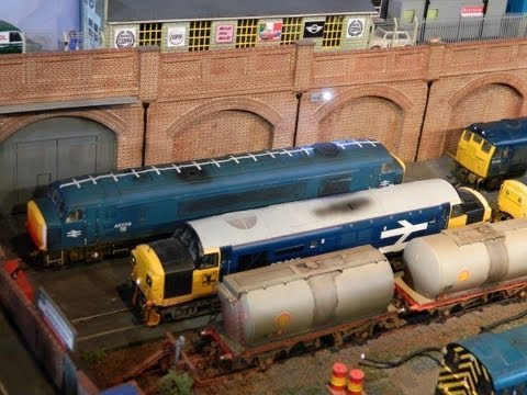 DEMU Model Railway Exhibition Saturday 06/07/2013