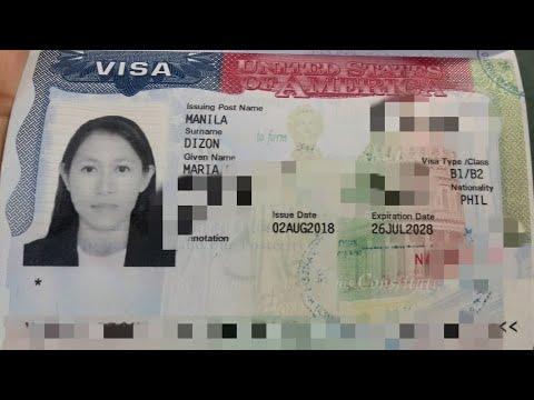 US VISA B2: PAANO AKO NAKAKUHA NG 10 YEAR MULTIPLE VISA: PART 2