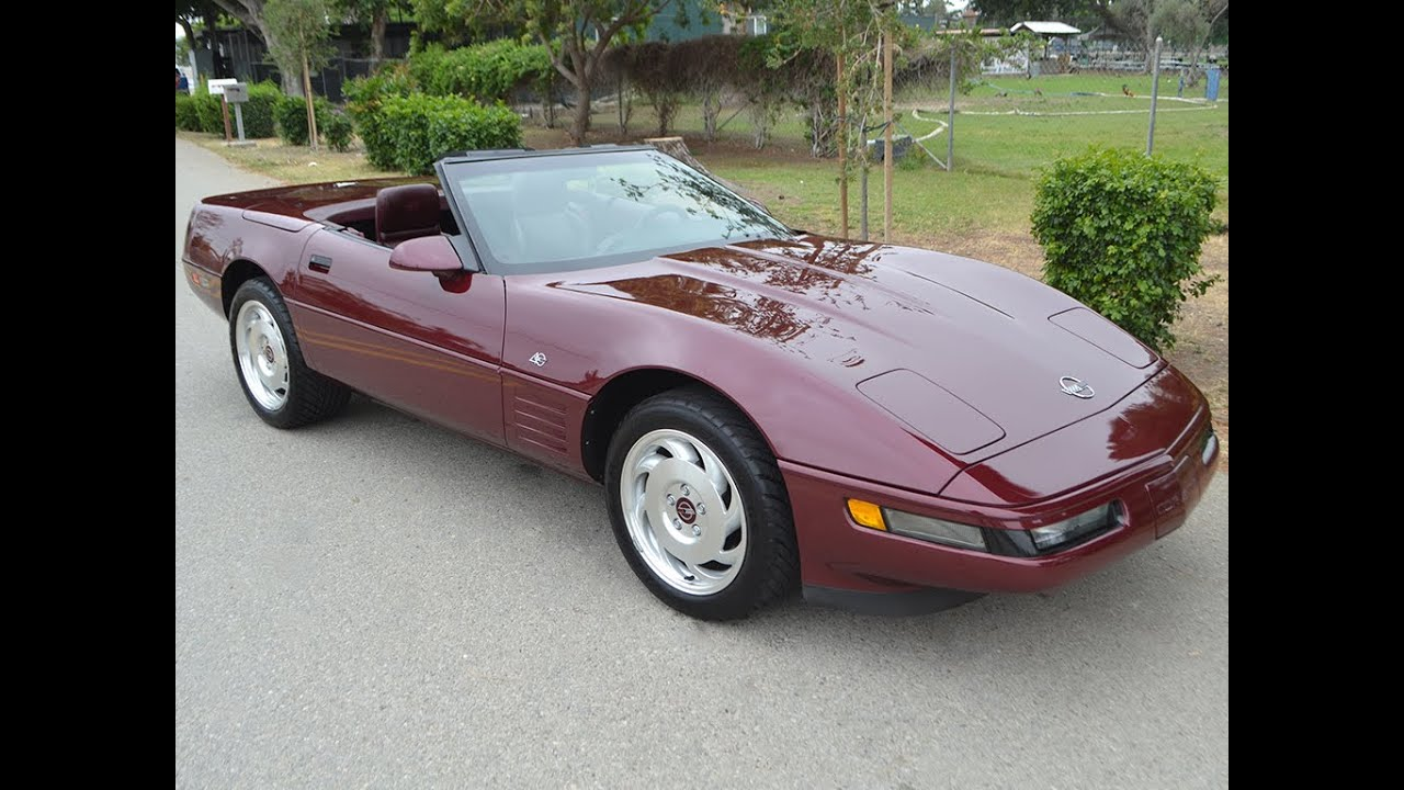 sold 1993 chevrolet corvette 40th anniversary convertible for sale by corvette mike youtube. Black Bedroom Furniture Sets. Home Design Ideas