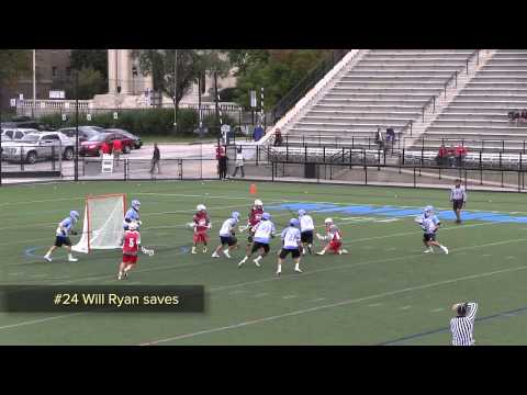 Fall Ball 2013 Fairfield vs Hopkins Lacrosse Scrimmage Highlights