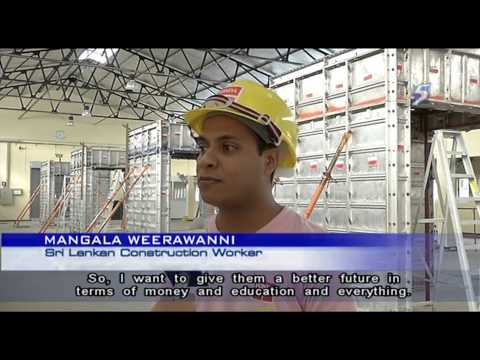 BCA: Sri Lanka has strong potential to supply construction workers to Sg - 29Aug2013