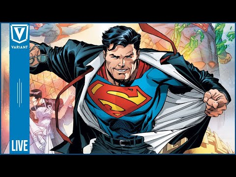 Variant Live: Bendis Takes Over Action Comics, Krypton Trailer & More!