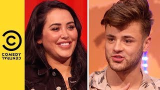Marnie Simpson Chooses Between A Hollywood Heart Throb And A Boy Band Reject | Your Face Or Mine