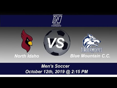 North Idaho College Men's Soccer host Blue Mountain Community College