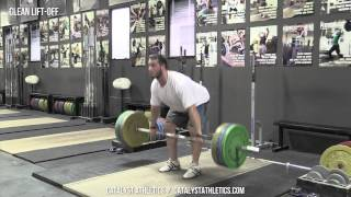 Clean Lift-Off - Olympic Weightlifting Exercise Library - Catalyst Athletics