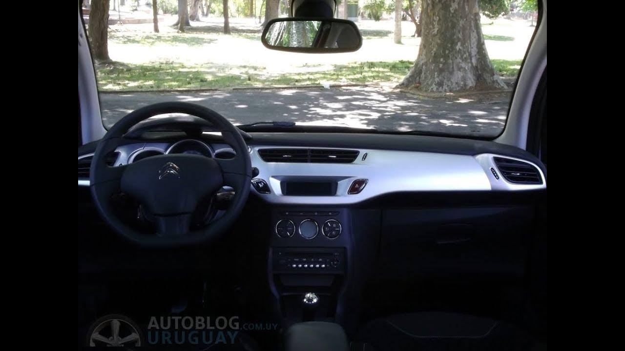 Prueba Citroën C3- Análisis interior (Parte 1/2) - YouTube