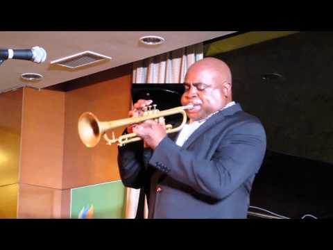 Terell Stafford playing at Midnight Jazz