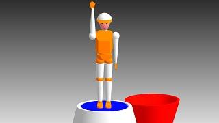 3D CAD's Holiday(ICAD/SX同期モーション使用) ICAD/SX の提供サンプ...