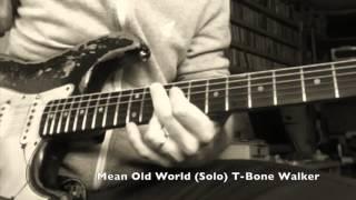 Mean Old World - Guitar Solo - T Bone Walker