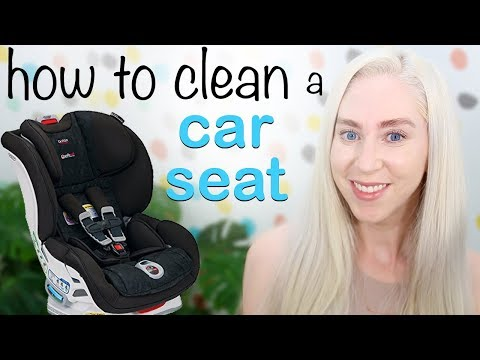 HOW TO CLEAN an Infant or baby CAR SEAT!